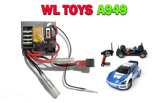 گیرنده ماشین کنترلی مدل WL TOYS-A949