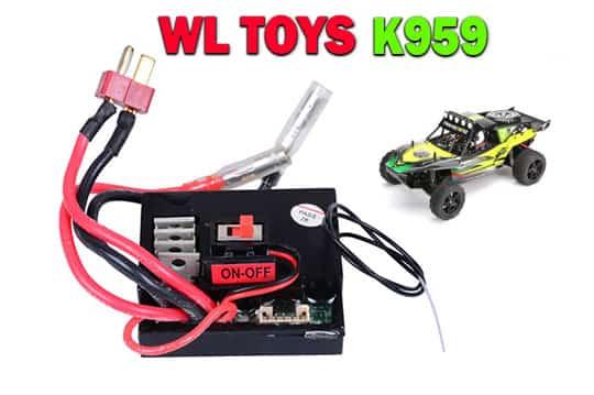 گیرنده ماشین کنترلی مدل wl toys - k959