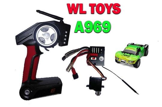 دسته کنترل و مدار ماشین سرعتی WL-A969
