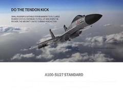 هواپیمای کنترلی a100 su27 با قابلیت اوج گیری لحظه ای و دارای جایرو