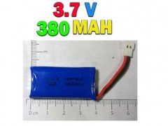 باتری لیپو 3.7 ولت - 380 میلی آمپر