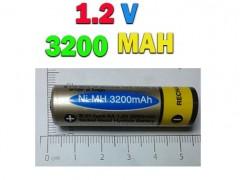 باتری قلمی شارژی نیکل متال با ظرفیت  3200 میلی آمپر