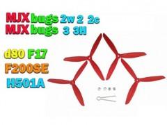 خرید چهار عدد ملخ کوادکوپتر mjx bugs 2 , باگز 3