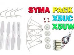 پک کامل قطعات کوادکوپتر سایما  SYMA X5uw-x5uc