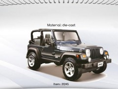 ماکت ماشین jeep wrangler rubicon