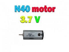 موتور کوادکوپتر و هلیکوپتر N40  با ولتاژ 3.7 ولت