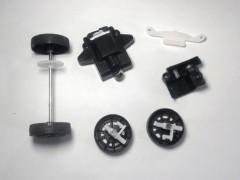 بدنه ماشین کنترلی با قابلیت نصب سه باتری قلمی