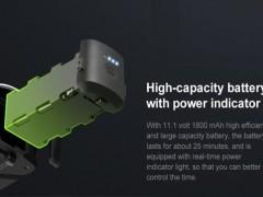 کوادکوپتر قدرتمند 8811 با قابلیت بازگشت به خانه gps  و دوربین 4k  و برد پروازی 1000 متر