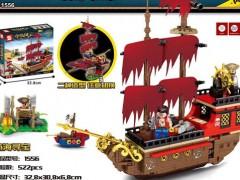 کشتی دزدان دریایی لگویی بزرگ 522 تیکه آیتم 1556