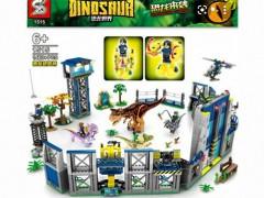باغ وحش لگویی دایناسورها 1460 تیکه  sy 1515