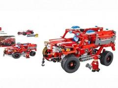 ماشین آتش نشانی 523 تیکه آیتم decool 3375 با قابلیت ساخت دو مدل