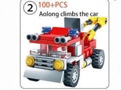 ماشین آتش نشانی لگویی 100 تیکه