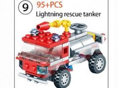 ماشین آتش نشانی 95 تیکه