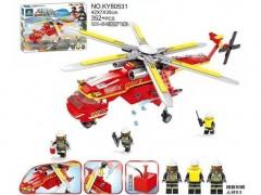 هلیکوپتر آتش نشانی لگویی 352 تیکه آیتم 80531