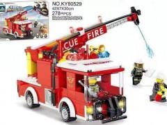 ماشین آتش نشانی 278 تیکه آیتم 80529