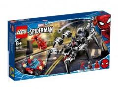 لگوی ربات به همراه ماشین مرد عنکبوتی 431 تیکه آیتم 11502