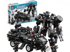 ماشین نفر بر لگویی 1044 تیکه با قابلیت تبدیل به ربات جنگنده آیتم c0551