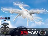 کواد کوپتر X5SW سایما با دوربین  وای فای