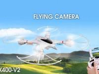 کوادکوپتر mjx400 v با دوربین ارسال تصویر (wifi)