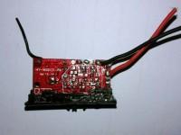 دسته کنترل و مدار هواپیمای رادیویی (  کارکرده)