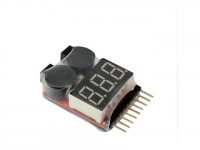 تستر باتریهای لیتیوم پلیمری- لیتیوم یونی تا 8 سل