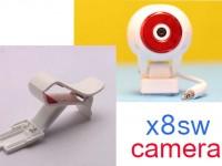دوربین وای فای و مموری خور مدلهای X8SW-X8SC سایما