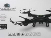کوادکوپتر با دوربین ارسال تصویر مدل k300