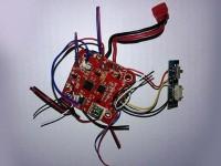 دسته کنترل و مدار کواد کوپتر مدل x5hc