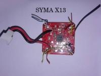 دسته کنترل و مدار کواد کوپتر مدل SYMA X13