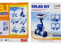لگوی خورشیدی SOLAR 2111 با قابلیت ساخت 6 مدل خورشیدی
