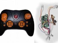 دسته کنترل و مدار کوادکوپتر مدل LH-H010