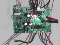 دسته کنترل مانیتور دار با برد و دوربین ارسال تصویر LH-X14 DV