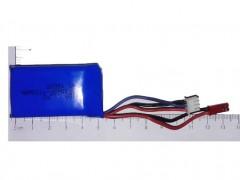 باتری لیتیوم پلیمر 7.4 ولت 1100 میلی آمپر