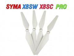 4 عدد پره کوادکوپتر سیما SYMA X8SW-X8SC-SYMA X8PRO