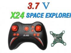دسته کنترل و مدار کوادکوپتر X24 SPACE EXPLORER