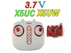 دسته کنترل و مدار کواد کوپتر مدل syma x5uc-x5uw