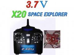 دسته کنترل و مدار هگزاکوپتر x20 space explorer