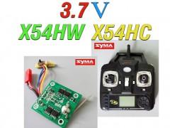 دسته کنترل و مدار کواد کوپتر مدل X54HW-X54HC