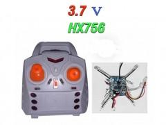 دسته کنترل و مدار کوادکوپتر  vioger hx 756