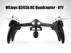 کوادکوپتر WL-Q393A با دوربین ارسال تصویر متحرک و مانیتور دریافت تصویر