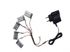 شارژر همزمان 5 باتری کوادکوپتر سیما syma x5-x5c