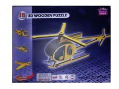 پازل چند چوب چین 16 تیکه طرح هلیکوپتر مینی