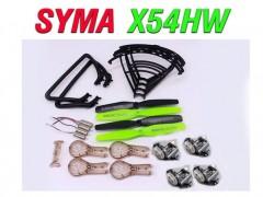 پک کامل قطعات کوادکوپتر SYMA X54hc-x54hw