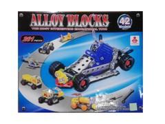 لگوی فلزی alloy blocks با قابلیت ساخت 42 مدل مختلف
