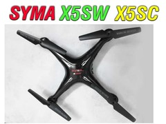 فریم کوادکوپتر syma x5sc-x5sw  با پره و چرخ دنده