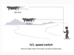 bugs 8 pro کوادکوپتر سرعتی با ماکزیمم 65km/h
