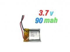 باتری لیتیوم پلیمری 3.7 ولت 90 میلی آمپری