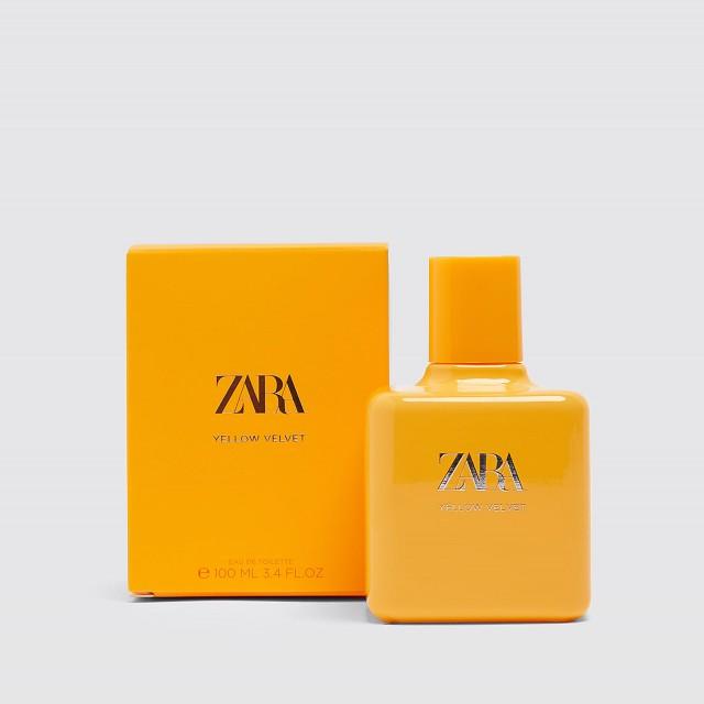 عطر و ادکلن زنانه یلو ولوت برند زارا ( ZARA - YELLOW VELVET )