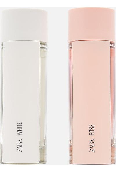 ست عطر و ادکلن زنانه وایت رز برند زارا ( ZARA - WHITE ROSE EDT SET )