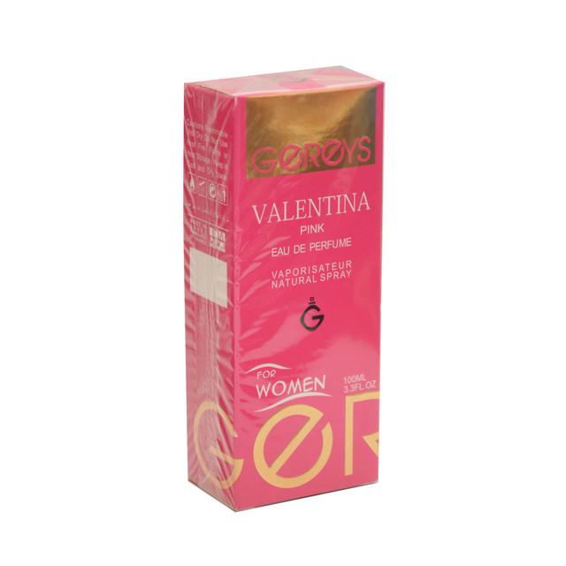 تستر ادوکلن زنانه گریس مدل VALENTINA PINK حجم 100 میلی لیتر